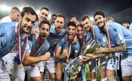 اطالوی فٹبال لیگ میں سپر کوپا کا ٹائٹل لیزیو نے جیت لیا