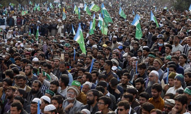 جماعت اسلامی کشمیر مارچ