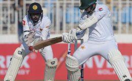 کراچی ٹیسٹ؛ پاکستان کی سری لنکا کے خلاف بیٹنگ