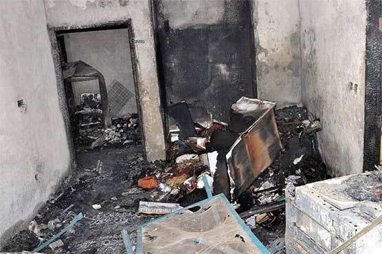 مینگورہ میں گیس لیکج دھماکہ، 2 بچوں سمیت 3 افراد جاں بحق