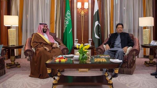 عمران خان کا الریاض میں سعودی ولی عہد سے دوطرفہ تعلقات اور علاقائی امور پر تبادلہ خیال