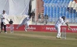 پاکستان اور سری لنکا کے درمیان پہلا ٹیسٹ بغیر نتیجہ کے ختم