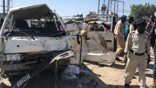 صومالیہ: ہلاکتوں کی تعداد 100 کے قریب ہو گئی