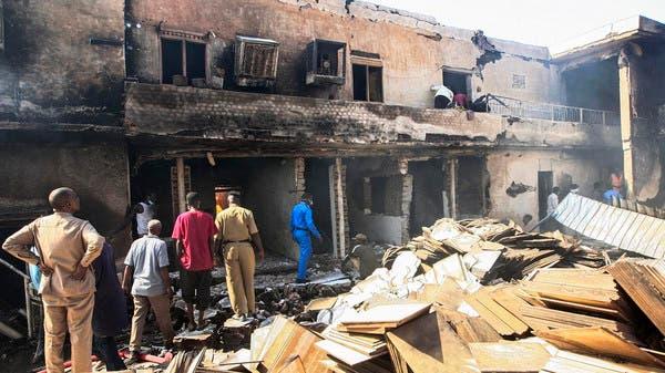 سوڈان : سرامکس فیکٹری میں گیس ٹینکر پھٹنے سے آتش زدگی، 23 افراد ہلاک، 130 زخمی