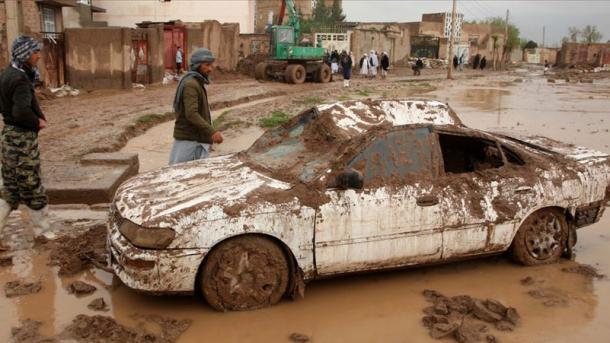 افغانستان: سیلاب کے نتیجے میں 11 افراد ہلاک