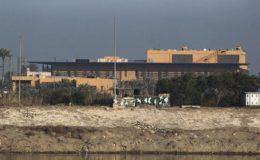 بغداد کے قلعہ نما گرین زون میں امریکی سفارت خانے کے نزدیک پانچ راکٹ آ گرے