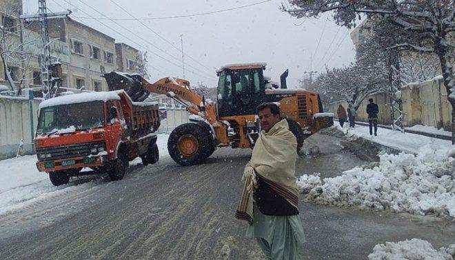 بلوچستان: بالائی علاقوں میں شدید برفباری، 15 افراد جاں بحق