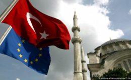 یورپی یونین کی طرف سے ترکی کے لیے امداد میں کٹوتی
