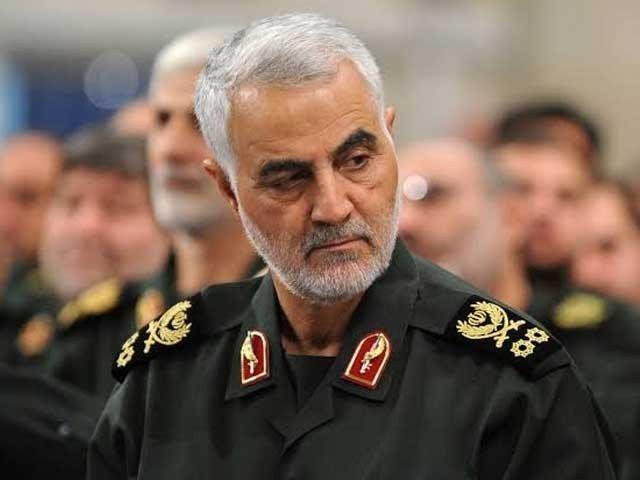 جنرل قاسم سلیمانی کی میت ایران پہنچا دی گئی