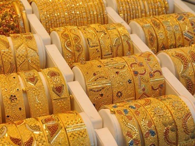 سونے کی فی تولہ قیمت میں 350 روپے اضافہ