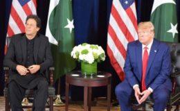 عمران خان سے ملاقات میں ٹرمپ نے پھر مسئلہ کشمیر حل کرانے کی پیشکش کر دی