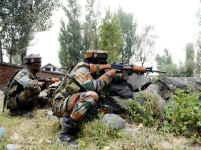 Indian Forces Line of Control Firing