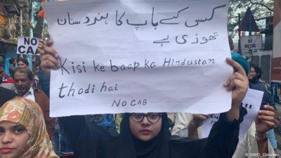 Indien Protest