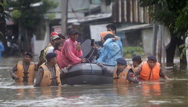 انڈونیشیا: جکارتا میں بارشوں نے تباہی مچا دی، 21 افراد ہلاک