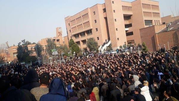 ایران میں مسلسل تیسرے روز حکومت مخالف مظاہرے فائرنگ سے کئی مظاہرین زخمی