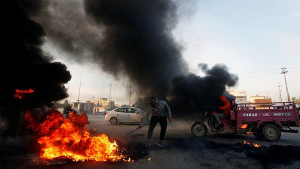 پارلیمنٹ کے فیصلے کے خلاف عراق میں مظاہرے، جلاو گھیراو جاری