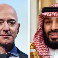 Jeff Bezos - Mohammed bin Salman