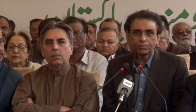 خالد مقبول صدیقی کا وفاقی کابینہ سے علیحدہ ہونے کا اعلان