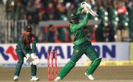 پاکستان نے پہلے ٹی ٹوئنٹی میں بنگلادیش کو شکست دیدی