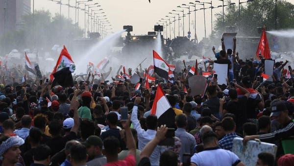 بغداد میں پُرتشدد احتجاجی مظاہرے، دو پولیس اہلکاروں سمیت چار افراد ہلاک