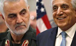 قاسم سلیمانی نے عراق میں امریکی سفیر زلمے خلیل زاد کو قتل کی دھمکی کیوں دی تھی؟
