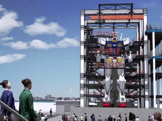 جاپان میں 60 فٹ اونچے روبوٹ کی تیاری، زورو شور سے جاری