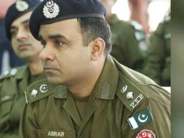 پولیس ٹریننگ اسکول کے پرنسپل ایس ایس پی ابرار حسین نیکوکارہ کی خودکشی