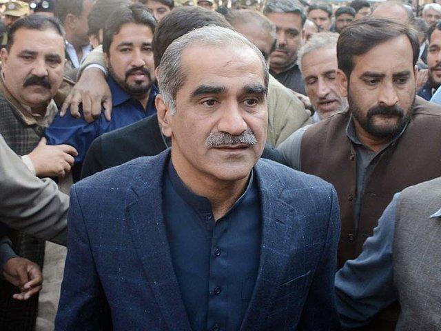 لاہور کیمپ جیل میں نیب بیرک میں آتش زدگی سے سعد رفیق زخمی
