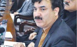 بی آر ٹی منصوبہ: خیبر پختونخوا کے وزیر اطلاعات شوکت یوسفزئی نے نئی ڈیڈ لائن دیدی