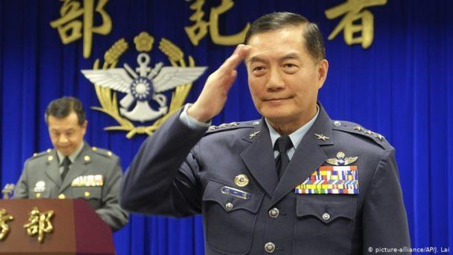 تائیوان میں ہیلی کاپٹر گر کر تباہ، ملکی فوجی سربراہ ہلاک