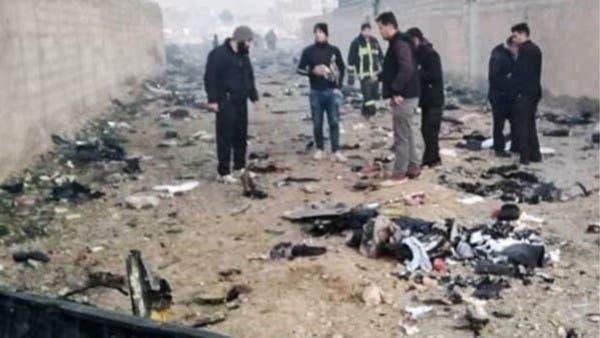 یوکرائن کا جہاز ایران میں گر کر تباہ، 173 افراد ہلاک