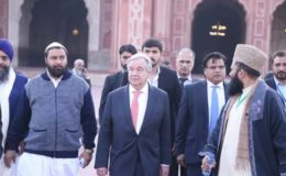 اقوام متحدہ کے سیکریٹری جنرل پاکستان کا تاریخی دورہ کر کے واپس روانہ
