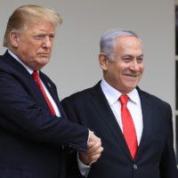 Donald Trump - Benjamin Netanyahu