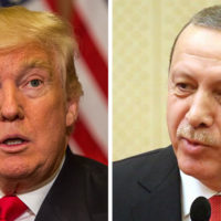 Donald Trump and Tayyip Erdogan
