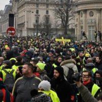 France Yellow Jacket Demonstrators