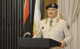 ایردوآن کے اجرتی قاتلوں کو نکالنے اور طرابلس کی آزادی تک جنگ بندی نہیں ہوگی: حفتر