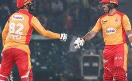 اسلام آباد یونائیٹڈ نے سنسنی خیز مقابلے کے بعد لاہور قلندرز کو شکست دیدی