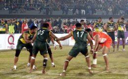 کبڈی عالمی کپ: افتتاحی میچ میں پاکستان نے کینیڈا کو پچھاڑ ڈالا