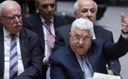 دنیا امریکہ کا نام نہاد مشرق وسطی امن منصوبہ مسترد کر دے: فلسطینی صدر