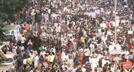ممبئی ''مودی سے آزادی'' کے نعروں سے گونج اٹھا