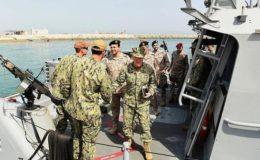 سعودی عرب اور امریکا کی مشترکہ بحری مشقیں شروع