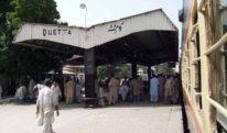 وزیر ریلوے کا کوئٹہ سے تفتان کے درمیان ریل سروس معطل کرنے کا اعلان
