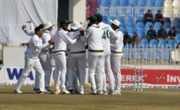 پنڈی ٹیسٹ میں پاکستان نے بنگلا دیش کو اننگز اور 44 رنز سے شکست دیدی