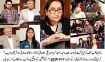 حنا محمد صادق کراچی گیٹ وے روٹریکٹر ایونجرز کی سال 2020-2021 کے لئے صدر منتخب ہو گئیں
