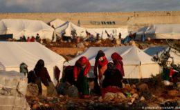شام میں بے گھر ہونے والے افراد کی تعداد میں غیر معمولی اضافہ
