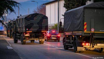 Coronavirus - Military Trucks
