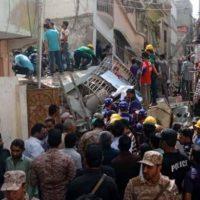 Karachi Buildings Collapsed