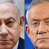 Netanyahu - Benny Gantz