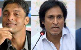 رمیز راجہ اور شعیب اختر، شرجیل خان کو موٹاپے کا طعنہ دینے لگے