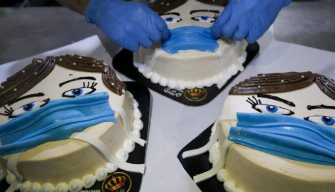 کورونا برگر کے بعد پیش ہے کورونا کیک